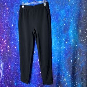 Shein- Black Elastic Waist Pants size Medium